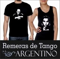 Remeras de Tango logo