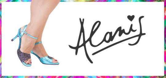Alanis Tango Shoes logo